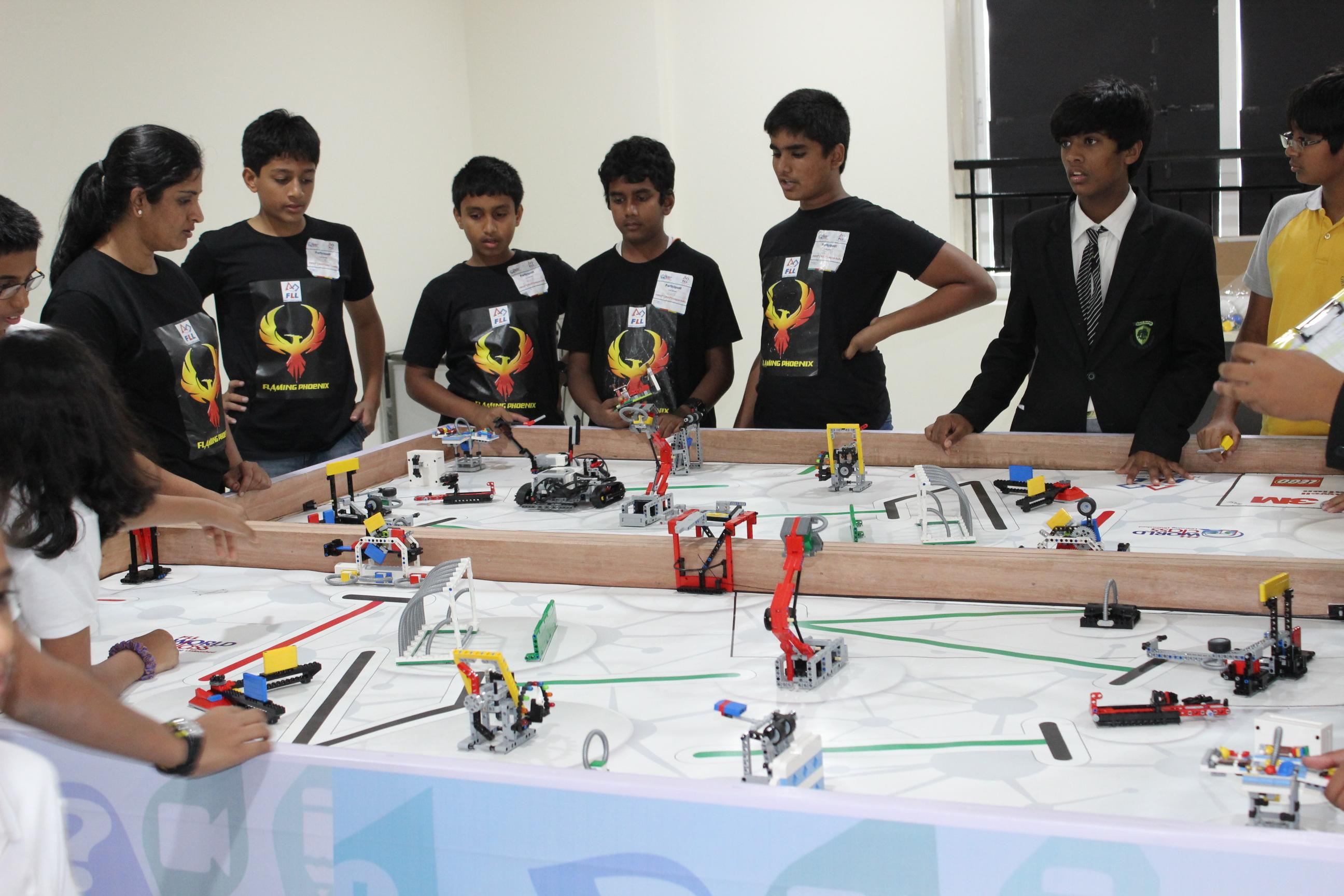 Greenwood High Hosted Robotic Competition Wins The Best Robot Design