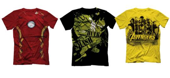 Marvels Avengers Tshirts by Voxpop, Rs 799