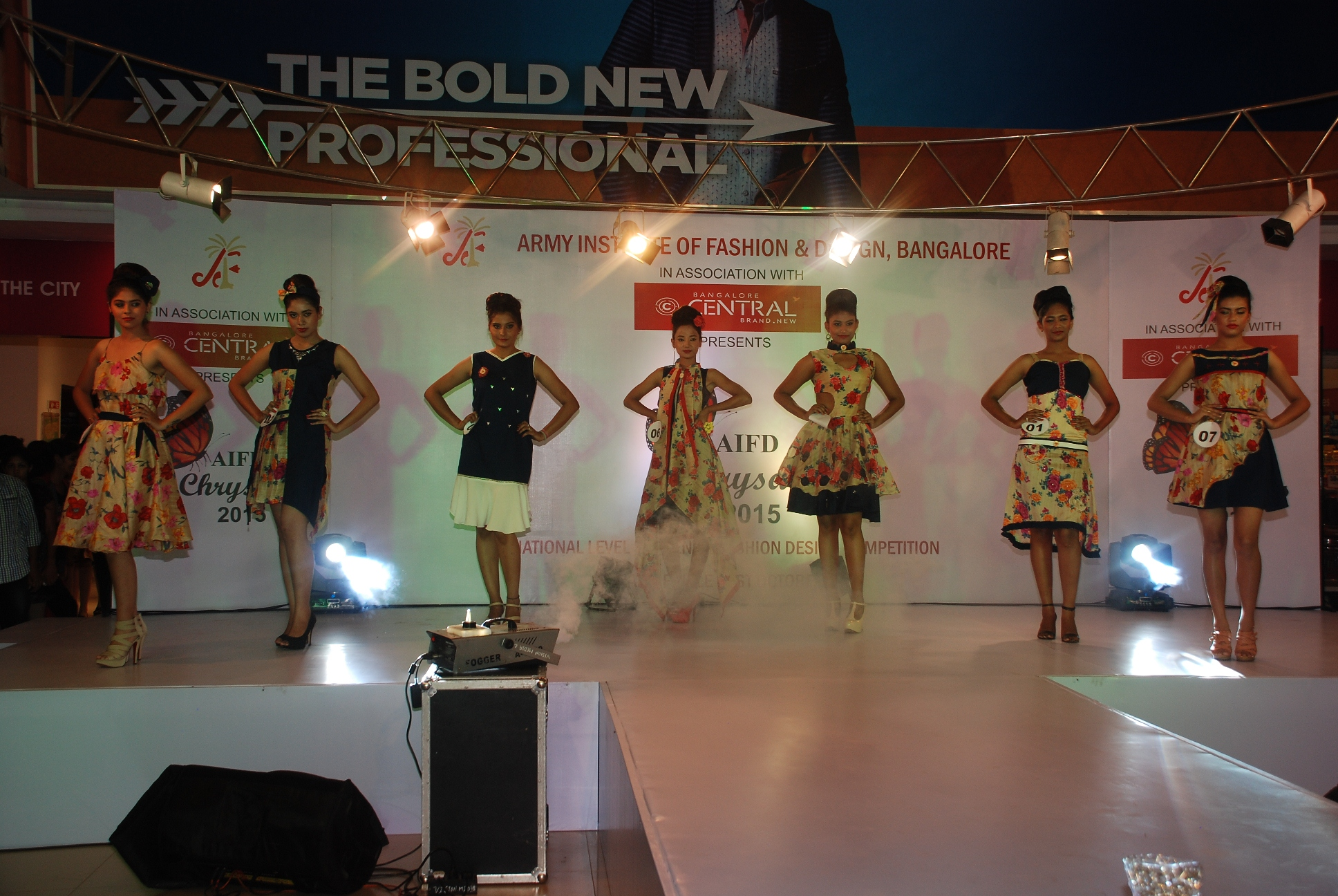 Bangalore Central And Army Institute Of Fashion Design Unravel The National Level Fashion Design Competition Finale At Central Bellandur City News For You
