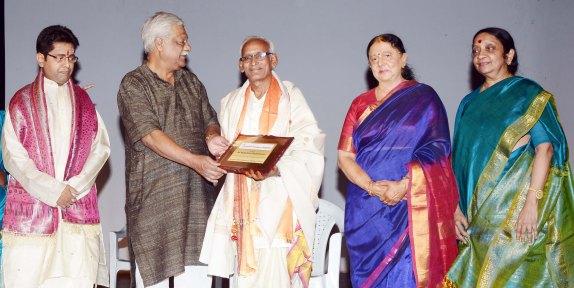 Felicitation to Vedantam Radheshyam