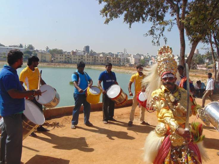 Cultural activities- Dollu Kunitha