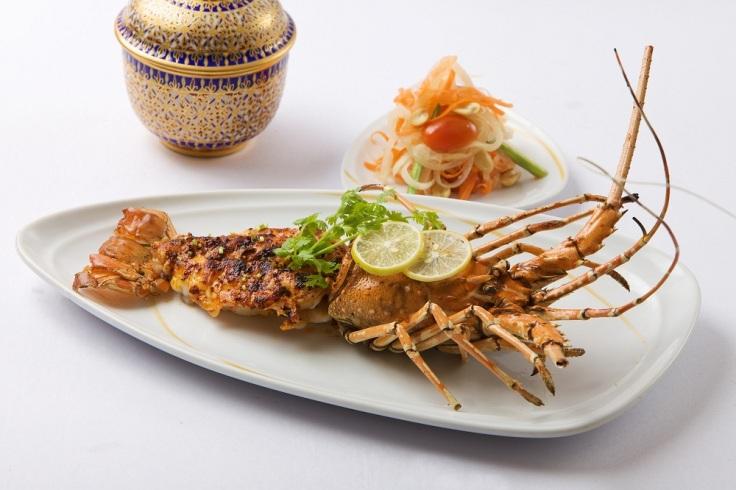 Goong mung korn yang phuket