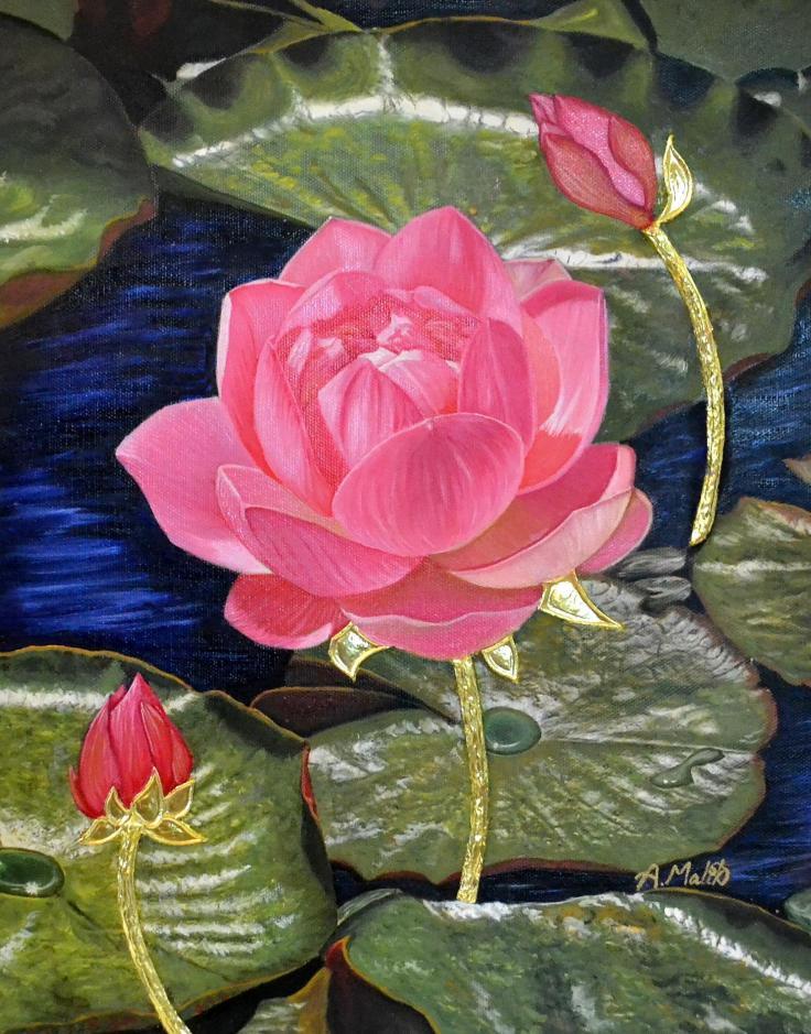 Molten Gold Lotus