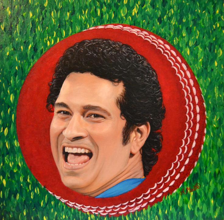 Sachin Tendulkar Portrait