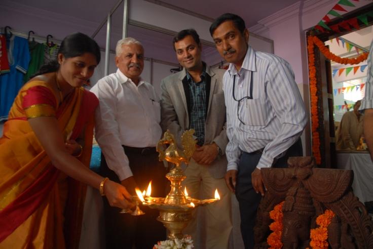 Smt Gangambike Mallikarjun Corporator  Jayanagar BBMP Lighiting Lam