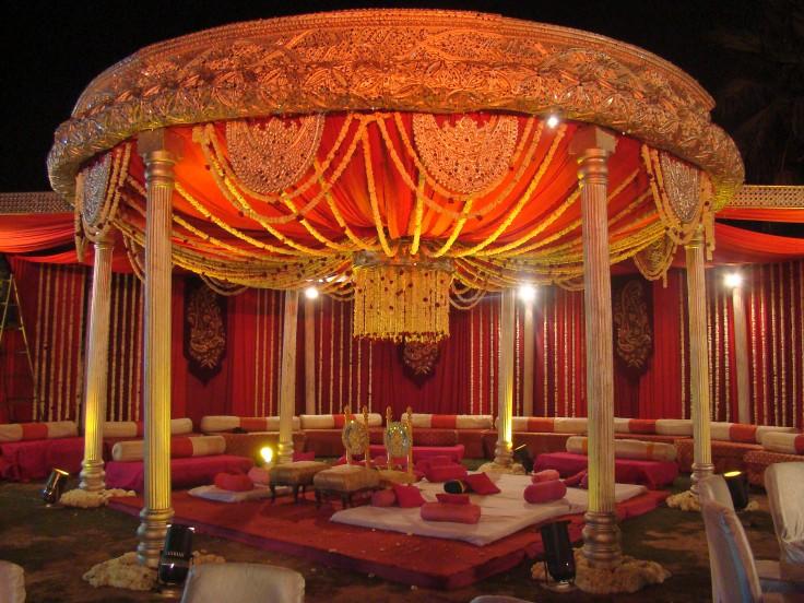 5. Rajwada mandap