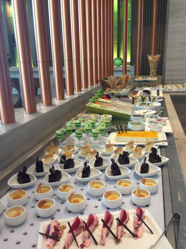 Dessert buffet at My Fortune, Bengaluru
