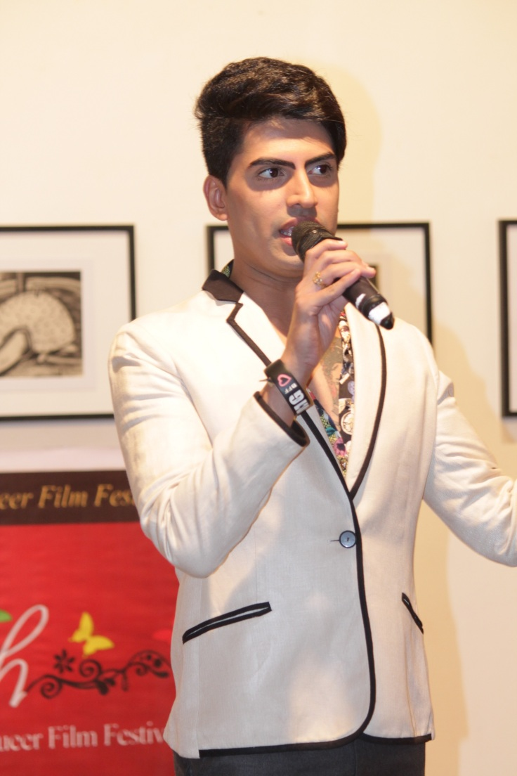Ex Mr Gay India Sushant Divgikar performance at the launch