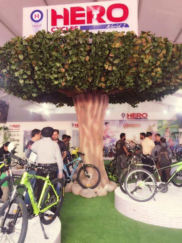 Hero Cycles- Expo 2