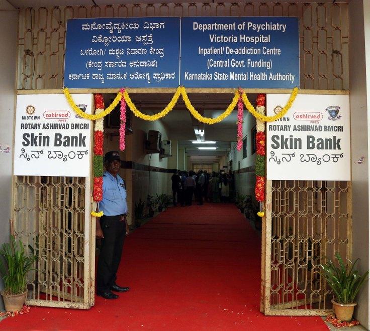 Midtown Rotary Ashirvad BMCRI Skin Bank