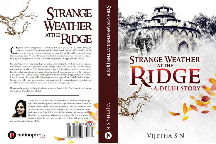 Strange Weather at the Ridge__Author Vijetha SN