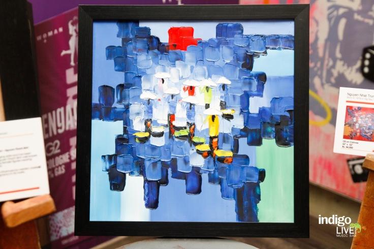 Artworks from Vietnam showcased at Indigo Live Music Bar