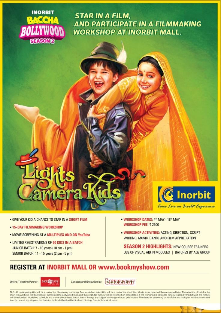 DDLJ Baccha Bollywood Poster A4 Vashi