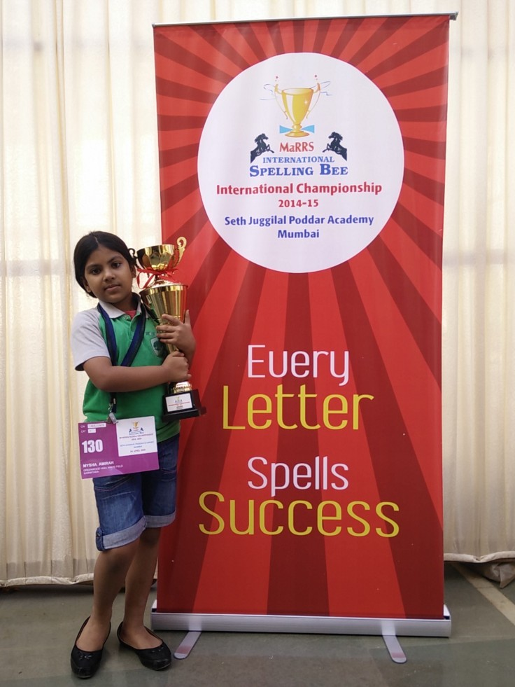 Ms Mysha Amirah_1st winner..