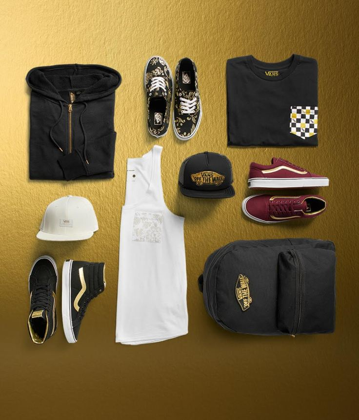 VANS GOLD PACK Collection jpg