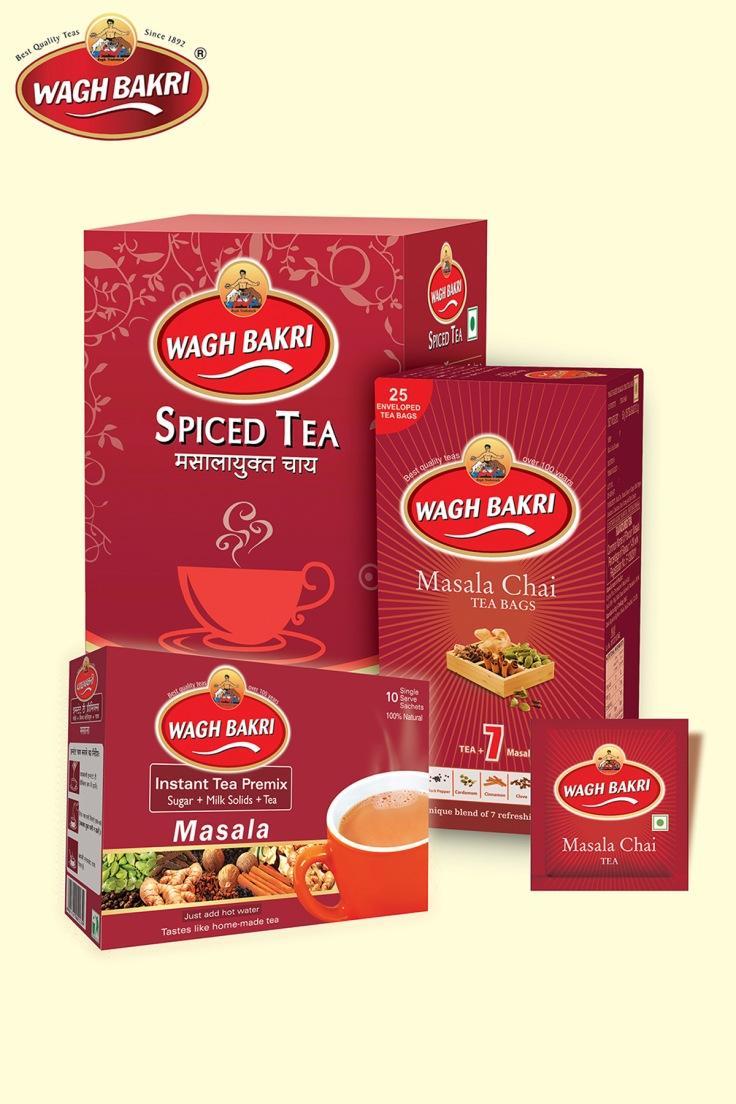 Wagh Bakri Spice Tea