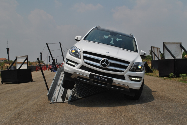 Mercedes-Benz GL at LuxeDrive bangalore