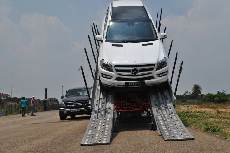 Mercedes-Benz LuxeDrive at NICE road Bangalore