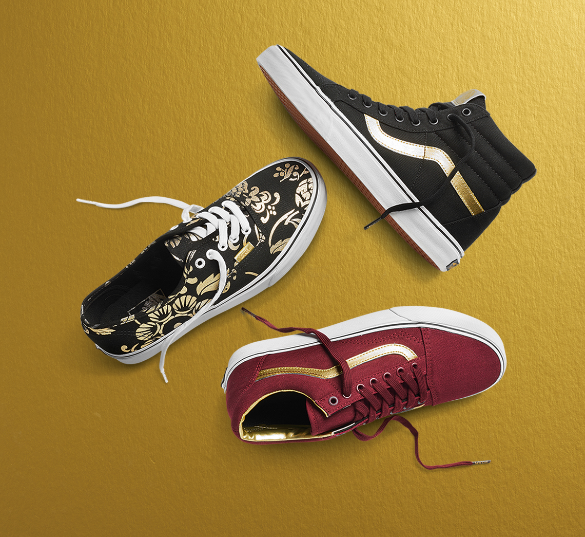 b337ba4aea Vans Honors its Golden Year with its Gold Pack Collection – CITY ...
