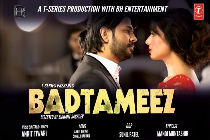 Badtameez by Ankit Tiwari