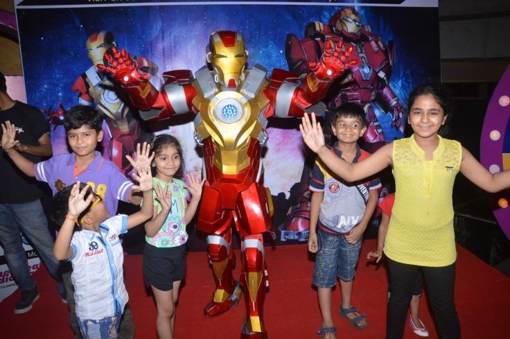 Iron Man And Kids