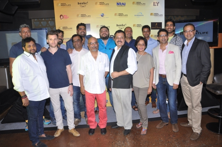 Local Jury with India Nightlife Convention & Awards Team - INCA press meet in Bangalore 2016