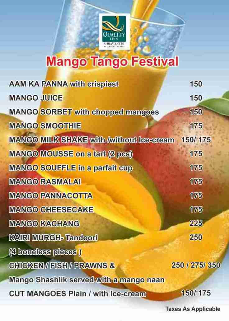 mango tent card