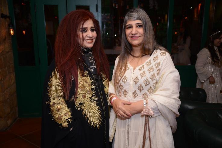 Beauty Expert Shahnaz Husain and Raj Kumari Kamini Singh