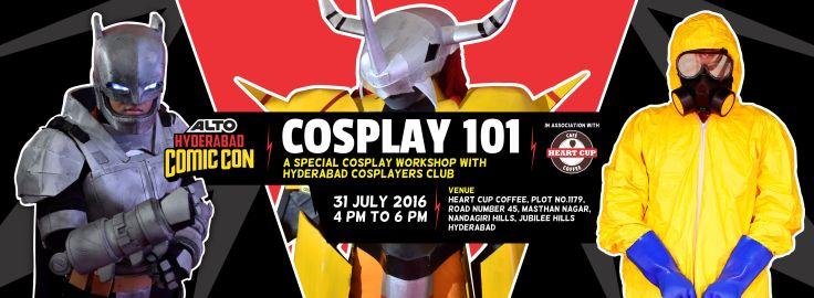Cosplay Workshop HCC 2016