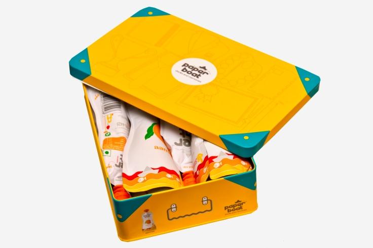 Aamras Gift Box - Pack of 4 Aamras