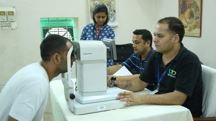 Eye checkup of Tihar inmates 3