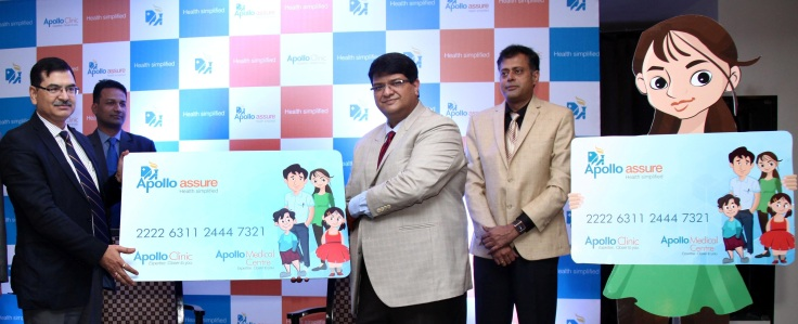 launch of Apollo Assure - an innovative one of its kind offering by Apollo Clinic L-R (Mr