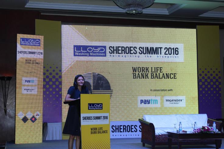 Ms. Sairee Chahal at SHEROES Summit-2016